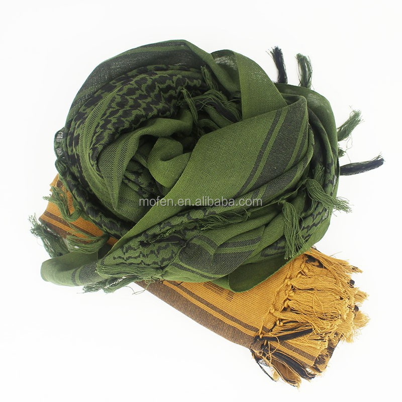 shemagh kerchief army olive green mud color tactical military arab <strong>scarves</strong>