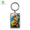 Zebulun March Expo Oem Personalized Clear Custom 3D Lenticular Keychains For Gift