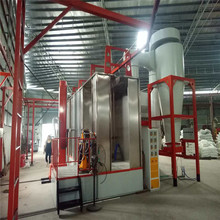 Spray Booth for Powder Coating