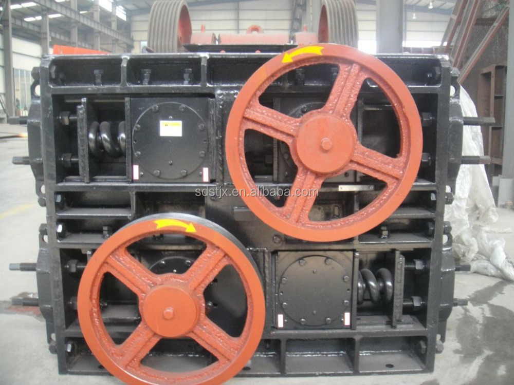 four roll crusher used for siderite crushing with ISO9001