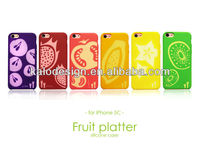 Kalo Fruit Silicone mobile phone cover for Iphone 5C case