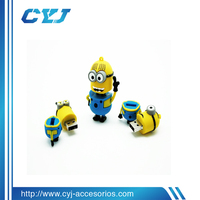 2014 hot sale newest designs USB drive/ USB drive for Dispicable Me Minion design