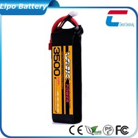 RC Lipo Battery 3500mAh 7.4V Li-polymer Battery
