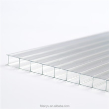 China factory Best price quality corrugated polycarbonate hollow sheet