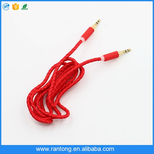 New and hot originality volume control audio cable made in china