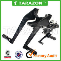Tarazon brand aluminum alloy motorcycle rear sets for ER 6N