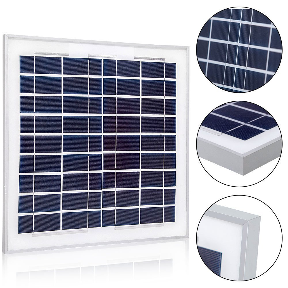 solar panel 10 watts poly for solar charging