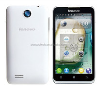 New Lenovo A590 Dual Sim 5.0 Inch IPS Screen 512MB Ram Dual Core Android 4.1 3G Smartphone alibaba china