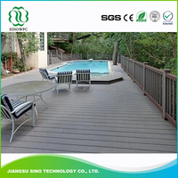 Recycled Material Waterproof New Wood Plastic Composite Decking