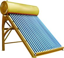 The Latest Color-coated Evacuted Tube Solar Water Heater