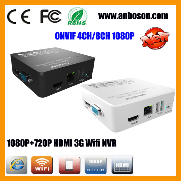 3G Wifi Mobile Surveillance Super Mini Onvif NVR