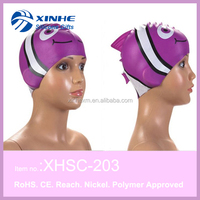 Good looking fashion silicone swim cap hat