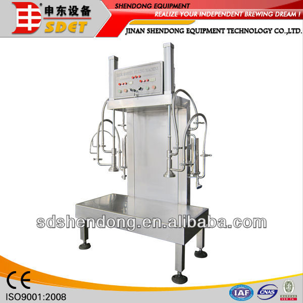 Double Head Beer Keg Filling Machine CN-SD-GT-2
