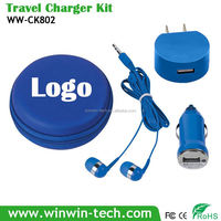 Best-selling Promotional earbuds charger christmas gift ideas