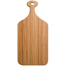 Bamboo Paddle Cutting & Serving Board