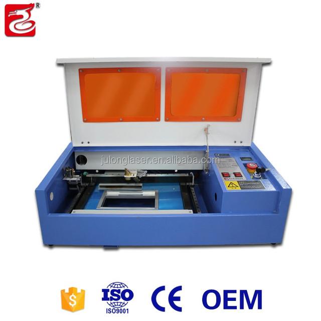 Julong bamboo phone case co2 laser engraving machine for cheap price