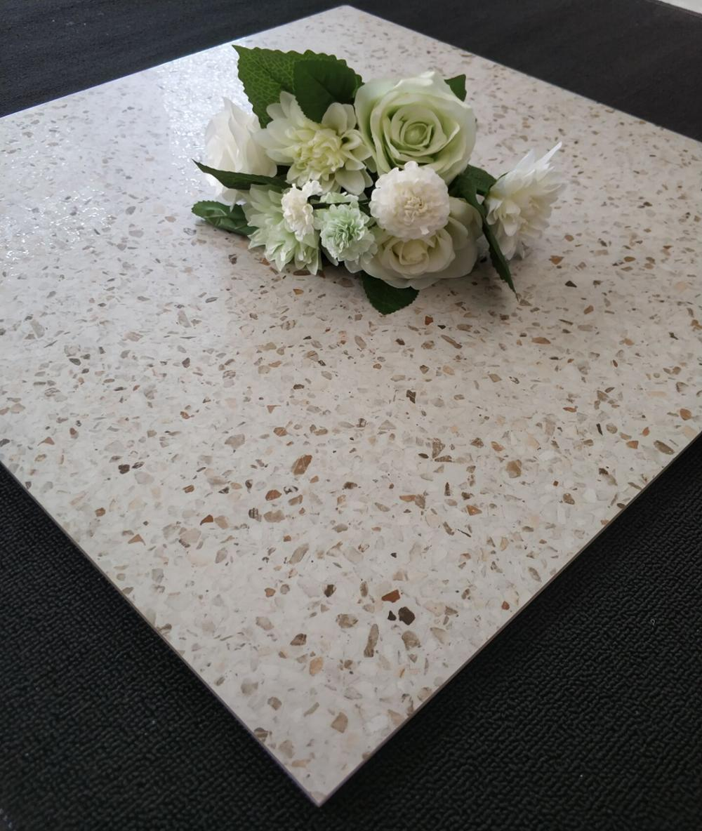 600 x 600 mm matte or polished surface terrazzo look floor <strong>tiles</strong>