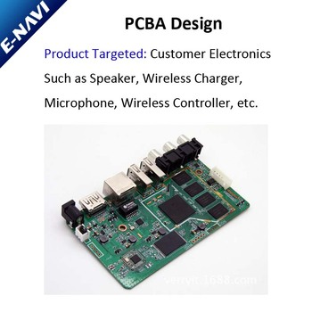 PCBA Design For Wireless Charger /Microphone / Speaker /Gamepad Under Your Demands