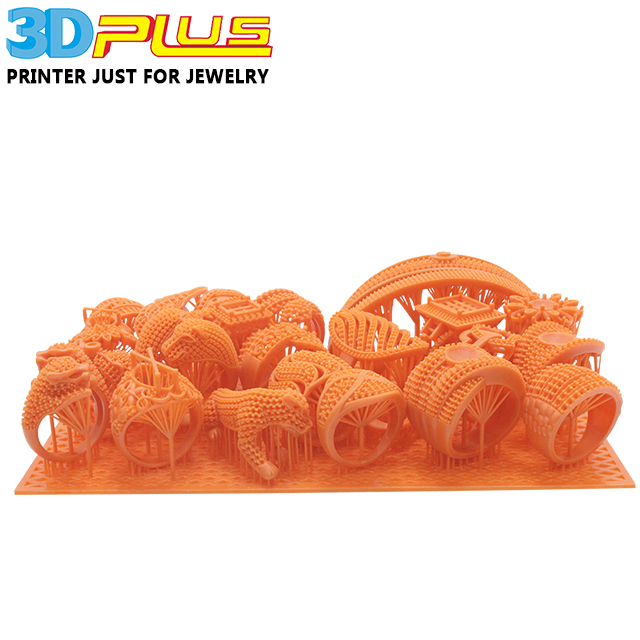 3D Plus 3D Printing DLP SLA 3D Printer Material Non Casting Resin for Silicon Models with great high surface finish