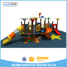 Outdoor kids lldpe material outdoor playground items