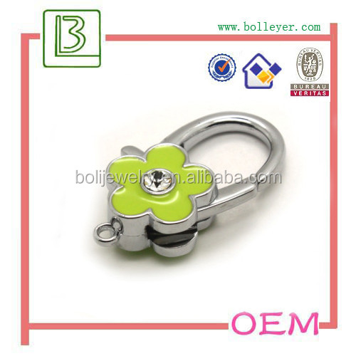 metal Clips Alloy Snap Hook Buckle For Shackles Keychain