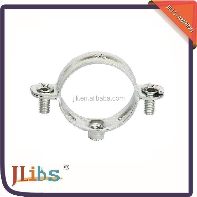Staffa di bloccaggio tubo singolo doppio bullone di for Collegamento del tubo di rame al pex
