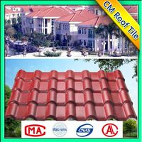 Construction Easy Installation ASA Plastic Ridge Tile For Roof