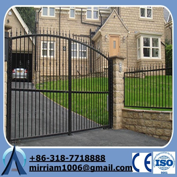 High Quality Modern Galvanized Gates and Fence Design