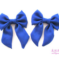 Wholesale Chiffon Bow In Hair Accessories