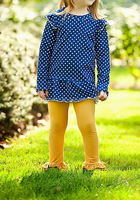 Children's Remake Outfit Fall Clothing Kids Ruffle Autumn Clothes Sets Boutique Clothing