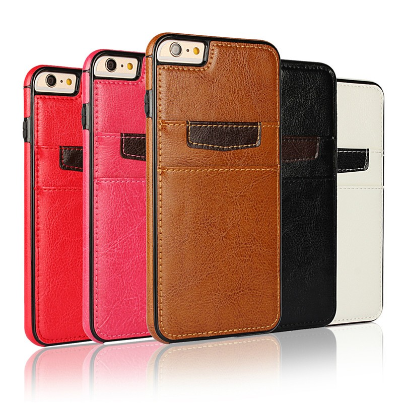 soft PU leather back case cover for iphone 6s 4.7 inches , for iphone 6s phone cases
