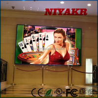 high definition shows led screen wifi standing led advertising media player