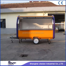 JX-FR300B Jiexian best selling outdoor mobile foodcart for sale with CE qualified 2017