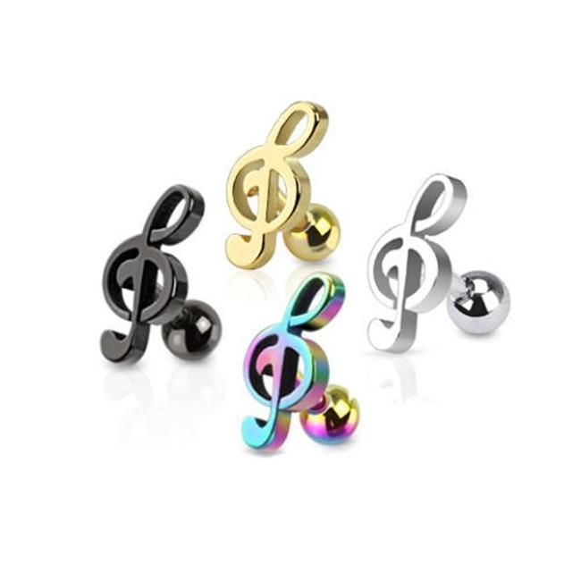 Fashion accessories design services tragus ear piercing in stainless steel jewelry