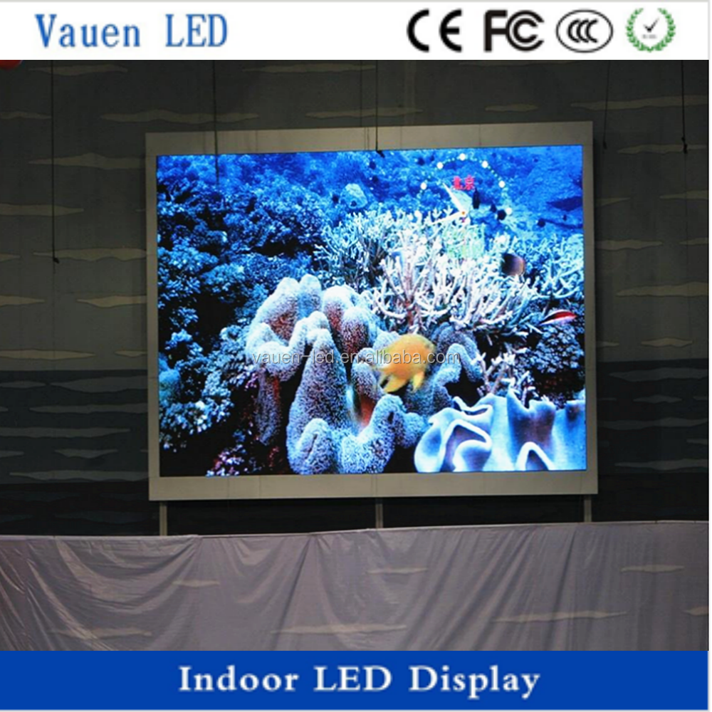 Video Advertising P3.91 Indoor LED Display/ Flexible Fixed Led Screen