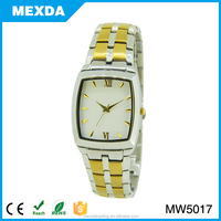Japan movt quartz stone stainless steel back custom lady steel watches