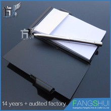 Cheap wholesale new creative business card holder with notepad