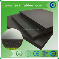 car soundproof materials/elastomeric foam rubber thermal insulation