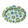 Hot Sale Factory Price Melamine Oval Shape Dinnerware Plate