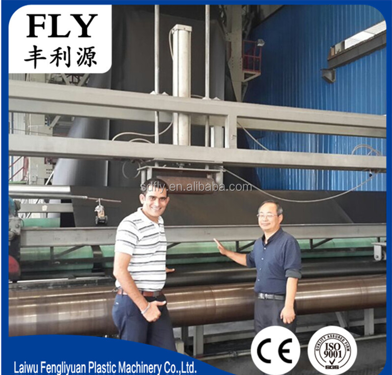 8 Meter 2.5MM HDPE Pond liner Sheet Making Machine