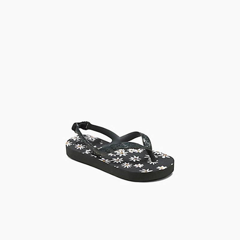 Insole snowflake print Simple Girls Sandals