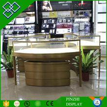 Luxurious accessories display cabinet high end decorative counter jewelry shop showroom retail wall store fixtures