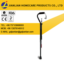 new premium health medical telescopic crutch disabled walking sticks with pick up tool JL950L