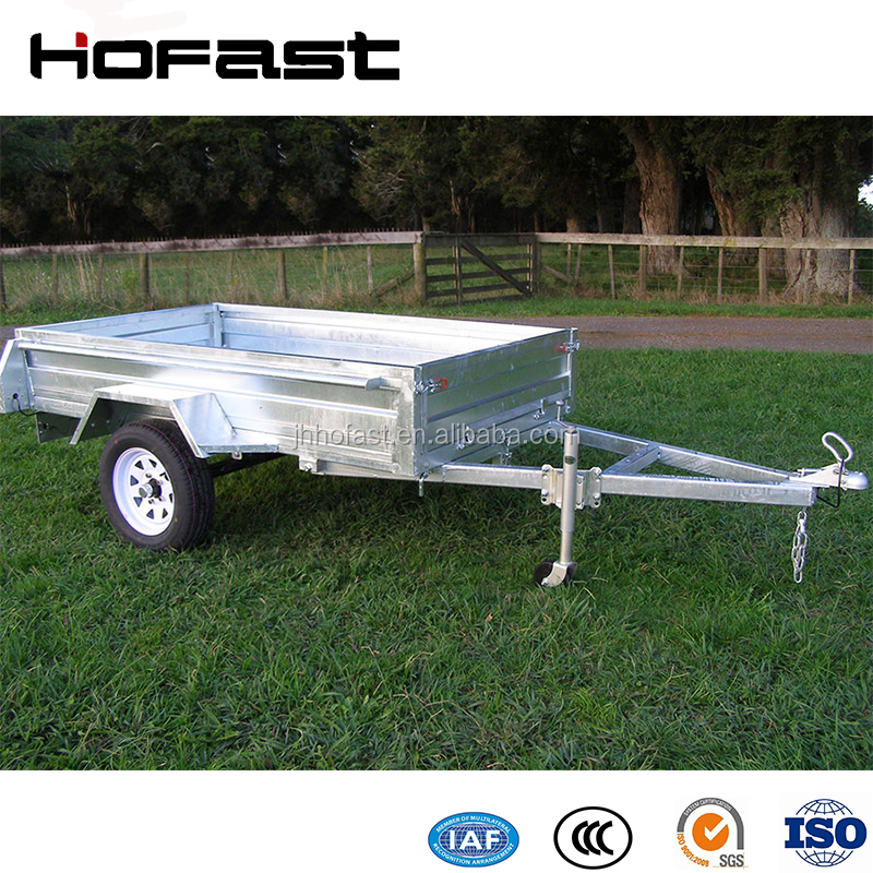7*4FT Bolted Box Poultry Transport Truck Trailer