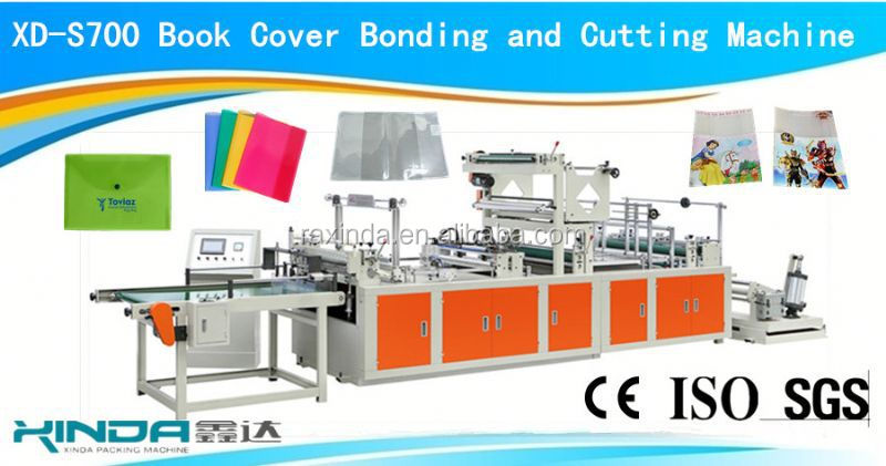 book slipcase and jacket making machine