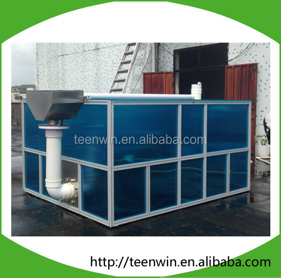 Customized Portable Small Biogas Plant Folding Mini Biogas Digester For Generate Electricity