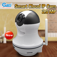 High resolution 1080p full hd onvif wifi ring doorbell camera with night vision infrared indoor fisheye ip camera cool cam