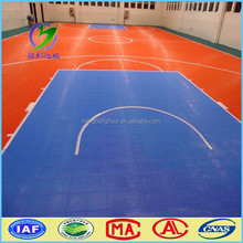 PP flooring outdoor for basketball court, futsal court