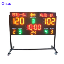 customized electronic table tennis basketball volleyball scoreboard digit led display