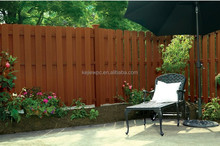 Easy install top quality Wood Plastic Composite Fence Design, WPC Fencing